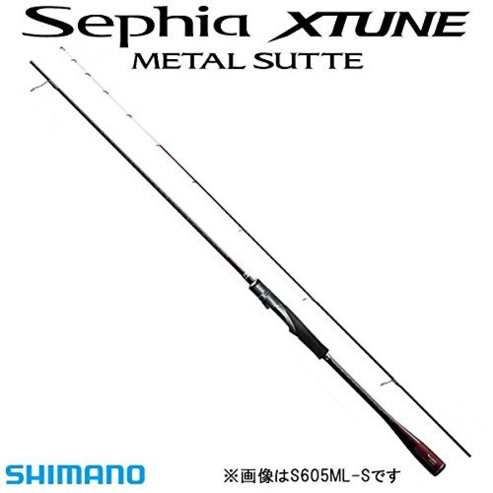 Shimano Spinning Rod Sephia X Tune  Metal Sutte S605L-GS Stylish Anglers Japan  counter genuine