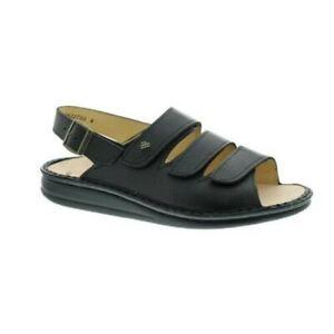 Finn Comfort 2509 Sylt Black Womens Sandals