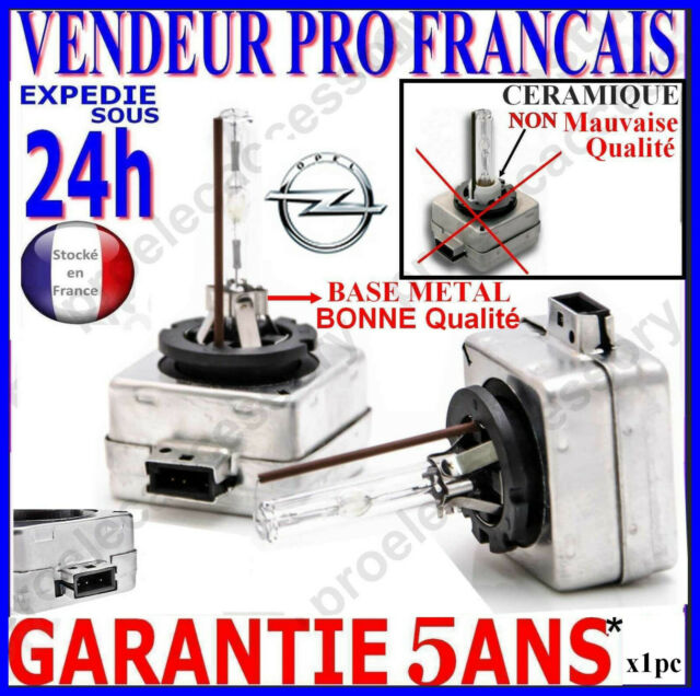 2 AMPOULES XENON D1S OPEL VECTRA INSIGNIA 35W 5000K NEUF