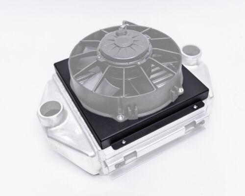 Agency Power Black Intercooler Fan Shroud Can-Am Maverick X3 Turbo