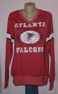 Atlanta Falcons Womens O.T. Queen Sweatshirt Red Plus Size XL - NFL ... 9ed082561