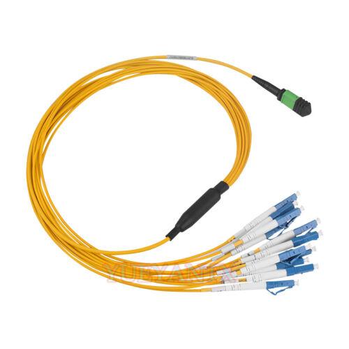 3M MPO//MTP Female to 12XLC Type A Breakout Fiber Optic Cable SM Fiber Patch Cord
