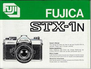 Fujica-Bedienungsanleitung-fuer-STX-1N-Anleitung