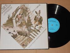 Alice im Wunderland (Lewis Carroll, Friedrich Schenker) LP Litera