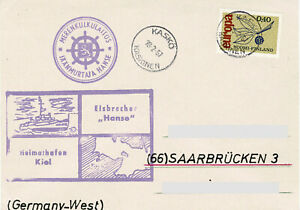 Polarpost BRD: EISBRECHER HANSE - 1967