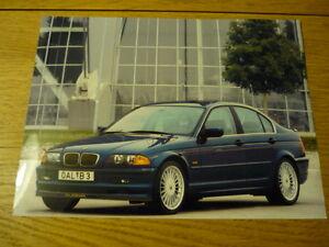 BMW ALPINA B E PRESS PHOTO Brochure Related Jm EBay - Bmw alpina b6
