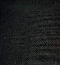1.5 Metre x 500 mm. Black Speaker Grill Fabric / Cloth Quality Weave