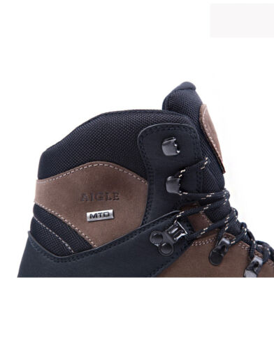 Khaki Aigle Black Boots confortevole Cherbrook e By Campeggio Hiking rwAqPrHXn