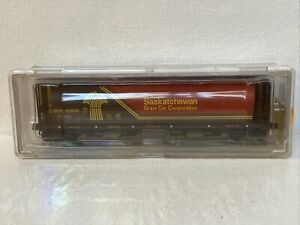 65122-01 Intermountain Railway N Scale 4 Bay Cylindrical Hopper Saskatchewan