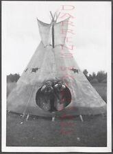 Vintage Photo Women in Roadside Indian Teepee 659871