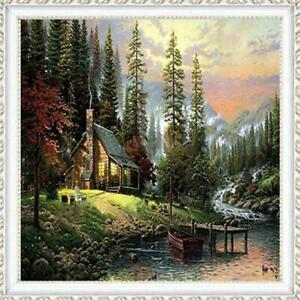 Village-House-Full-Drill-DIY-5D-Diamond-Painting-Embroidery-Cross-Stitch-Kits-DD