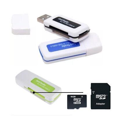 Clé USB lecteur adaptateur de carte micro SD TF//  Micro SD TF reader adapter key