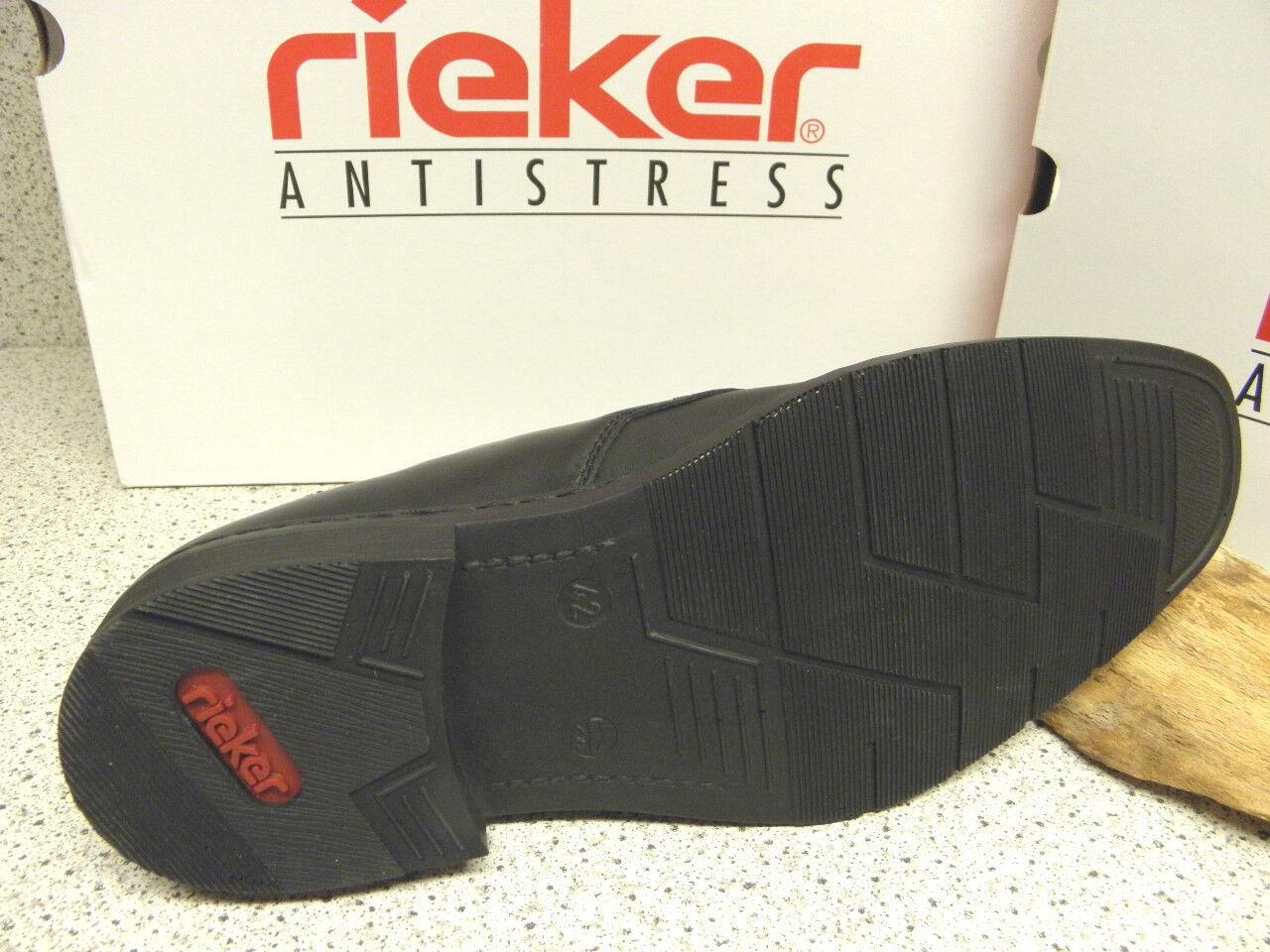 rieker ®  SALE  Schnürer modisch Top - Preis + gratis Premium - Top Socken (R263) 8b0320