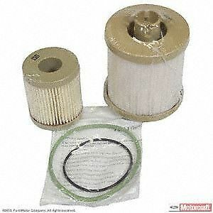 ford motorcraft fd4616 fuel filter 6 0 liter powerstroke ebay Ford 6.0 Fuel Filter Housing Gasket image is loading ford motorcraft fd4616 fuel filter 6 0 liter