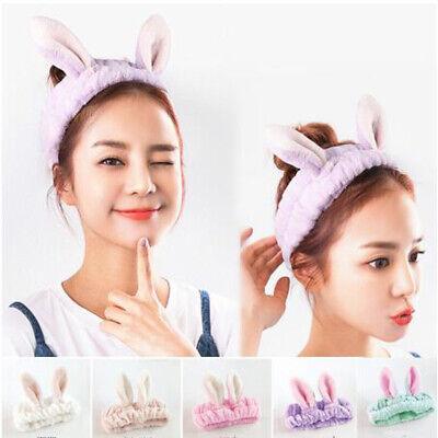 Gifts Elastic Makeup Tools Cat Ears Hairband Washing Headwear Mask Headwrap