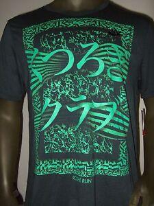 New-Men-039-s-Nike-Roshe-Run-Symbol-Gray-Graphic-Print-Tee-Shirt