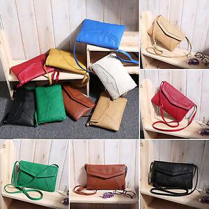 New-Women-Girls-Leather-Satchel-Cross-Body-Purse-Shoulder-Messenger-Bag-Handbag