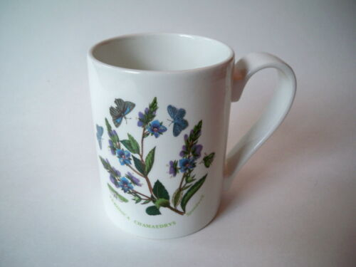 Portmeirion Coffee Mug Butterfly Veronica Speedwell Flower Botanic Garden