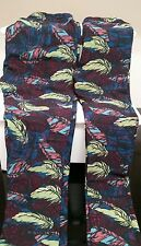 Lularoe Mommy n Me Set OS and KIDS L/XL Feather Paisley Leggings NWT