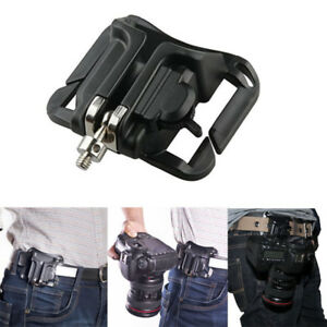New-Camera-Waist-Belt-Holster-Quick-Strap-Buckle-Hanger-for-DSLR-Digital-SLR