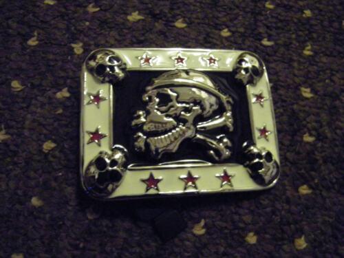 Gürtelschnalle Buckle  Wechselgürtel Biker Totenkopf Skull Totenkopf Pirat
