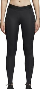 Women's Clothing Black Be Shrewd In Money Matters Adidas Alphaskin Sport Womens Long Training Tights