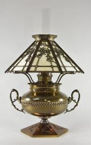 B&H Electrified Hanging Oil Lamp