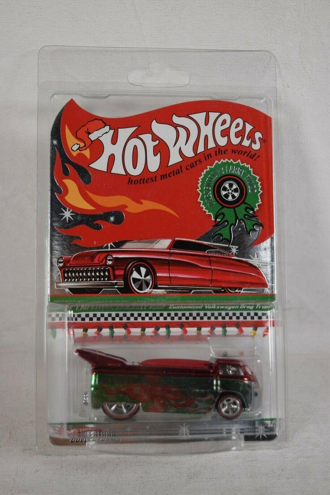 Hot Wheels Employee Holiday Car 2009 Volkswagen Drag Bus 1468 1500