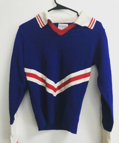 kandel knitting mill cheerleader vintage sweater b