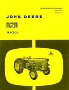 John-Deere-Model-820-Tractor-Operators-Manual-JD