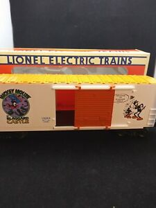 Lionel-Disney-Mickey-Mouse-Express-Train-Car-034-Mickey-Mouse-In-Blaggard-Castle-034
