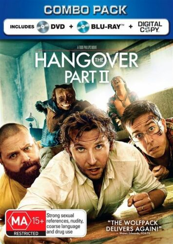 1 of 1 - The Hangover: Part 2 - Blu-ray + DVD, 2-Disc Set (Brand New & Sealed)