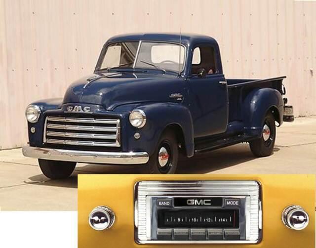 NEW USA-630 II* 300 watt '47-53 GMC Truck AM FM Stereo Radio iPod USB Aux inputs