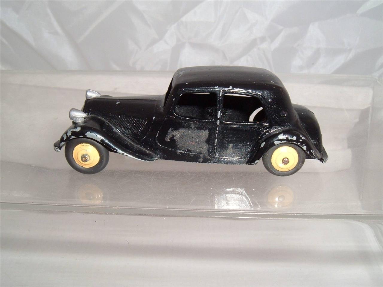 DINKY Toys France CITROEN TRAZIONE 11BL è stata REPAINTED VINTAGE VEDI FOTO