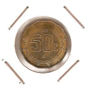 Mexico: 50 Centavos 1993 Unc K3bcskk5-08005646-428070783
