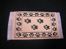 "2.75/"" x 1.25/"" #27 Heidi Ott Dollhouse Miniature Floor  Carpet  Woven Rug"