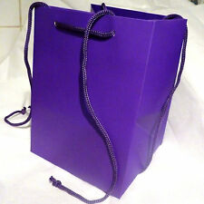 3 Floristry Hand Tied Flower Bouquet Gift Bags presentation Purple best quality
