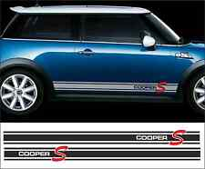 Cooper S Style side stripe for BMW MINI --- sticker/decals/stripes