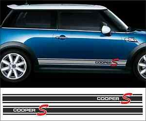 Cooper S Style Side Stripe For BMW MINI Stickerdecalsstripes - Bmw mini cooper decals