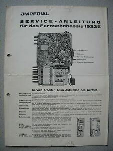 IMPERIAL-S-W-TV-Chassis-1923-E-Service-Manual
