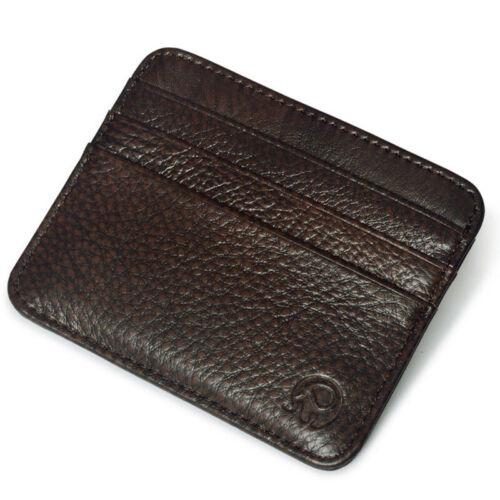Men/'s Genuine Leather Wallet ID Money Credit Card Slim Holder Money Pocket Bag