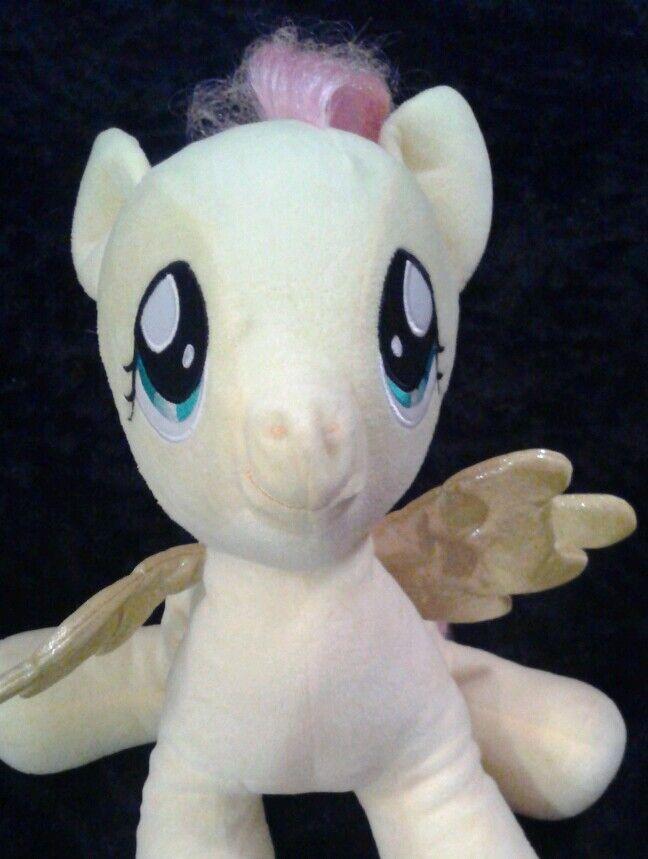 Build a Bear My Little Pony Fluttershy plush Pegasus 15  stuffed animal yellow