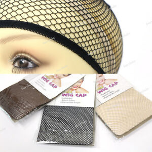 Us 1 Piece Mesh Wig Cap Comfortable Elastic Band Net Ultra Stretch Cap 4colors Ebay