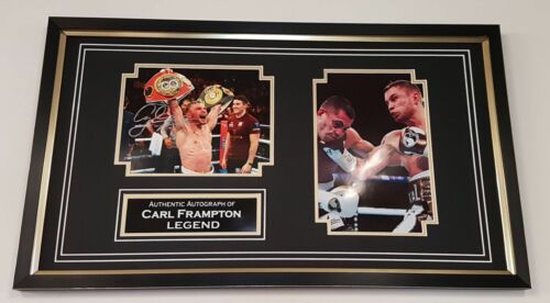 NEW Carl Frampton Signed Photo Picture Autograph Display