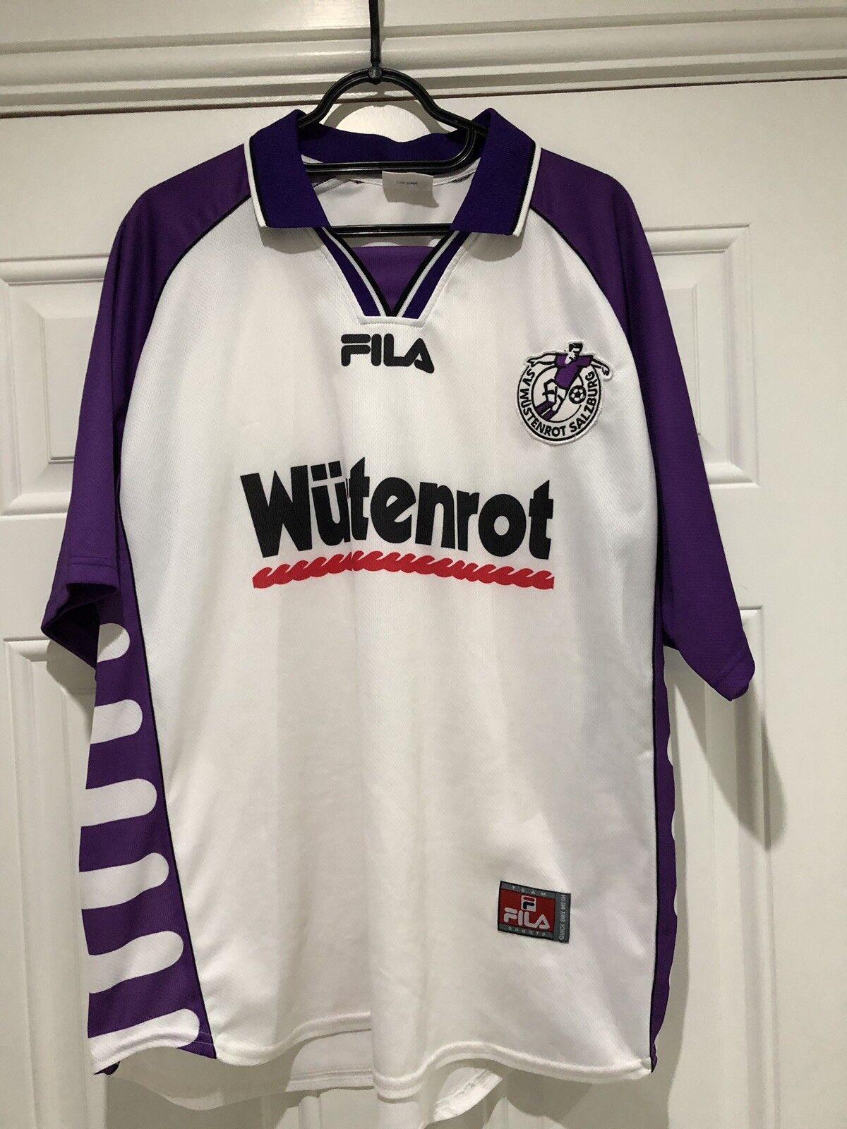 2001-02 Austria Salzburg Home Shirt - Large