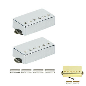 Alnico-5-Humbucker-Electric-Guitar-Pickup-Neck-Bridge-N-B-Set-For-LP-Guitar