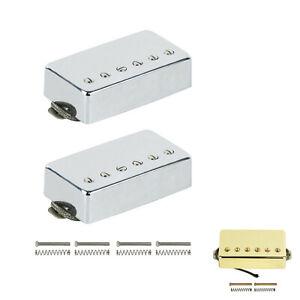 Alnico-5-Humbucker-Electric-Guitar-Pickup-Neck-Bridge-N-B-Set-For-LP-Guitar
