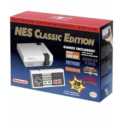 NEW Authentic Nintendo Entertainment System: NES Classic Edition (USA Version)