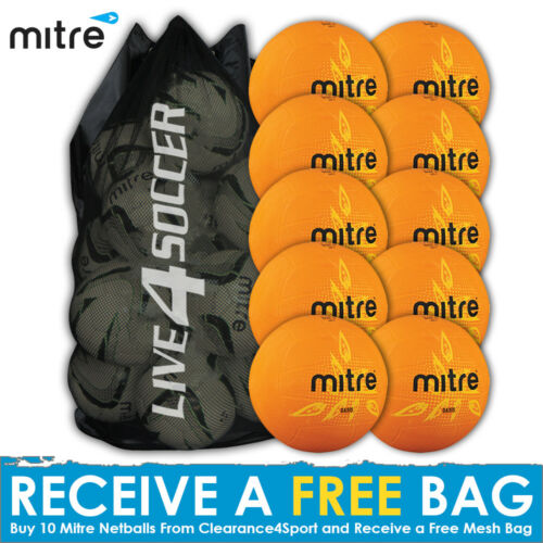 Mitre Oasis 10 Netball Deal