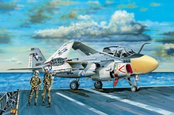 A-6e Intruder Fighter 1 48 Plastic Model Kit HOBBY BOSS